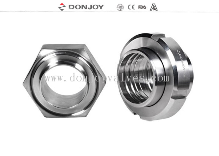 SMS,DIN,IDF standard stainless steel 304 316L sanitary forged union for beer pipe line