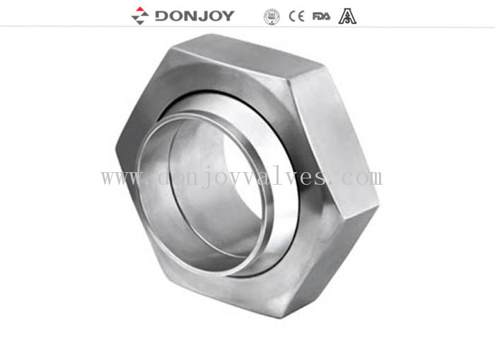 SS304 Female Threaded Pipe Fitting Connector,Stianless steel Hexagon Union