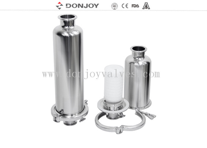 Food Grade Stainless Steel Tank Parts Sanitary Rebreather With Clamped Connection
