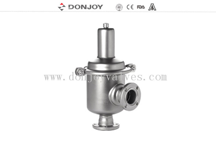 Sanitary pressure safety valve 180 degree temperature , air release valve