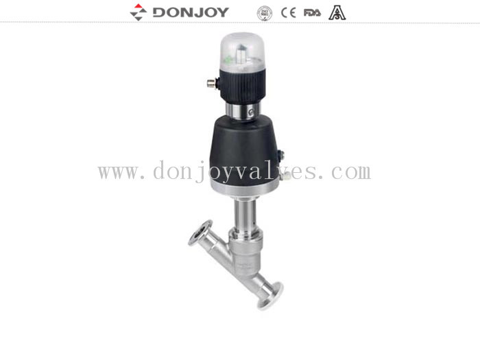 Double Acting Pneumatic 2/2 Way DC2V Angle Body Valve