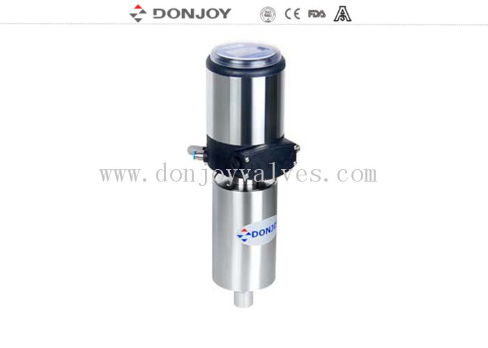 SS304 / SS316L stianless steel actuator With Intelligent Positioner for control Valve