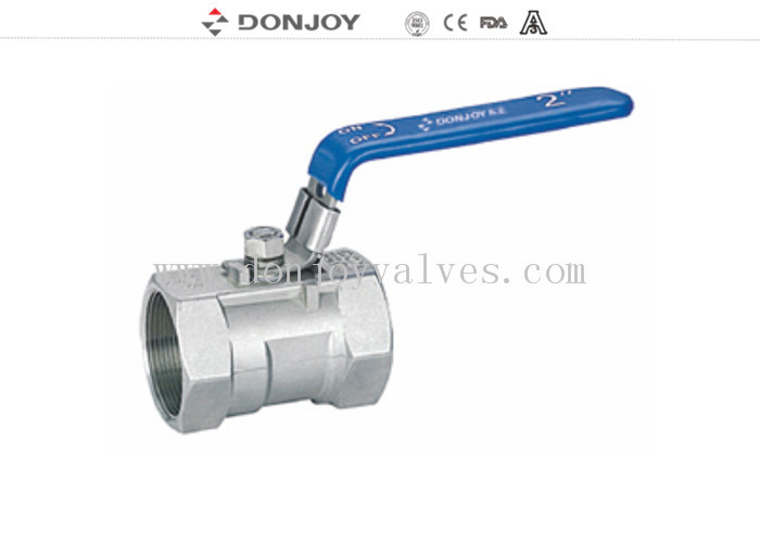 One Peice Sanitary Ball valve With  Female Thread Connection