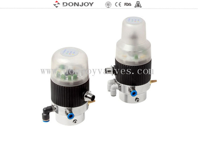 Intelligent valve Positioner control unit for mini size regulating valves